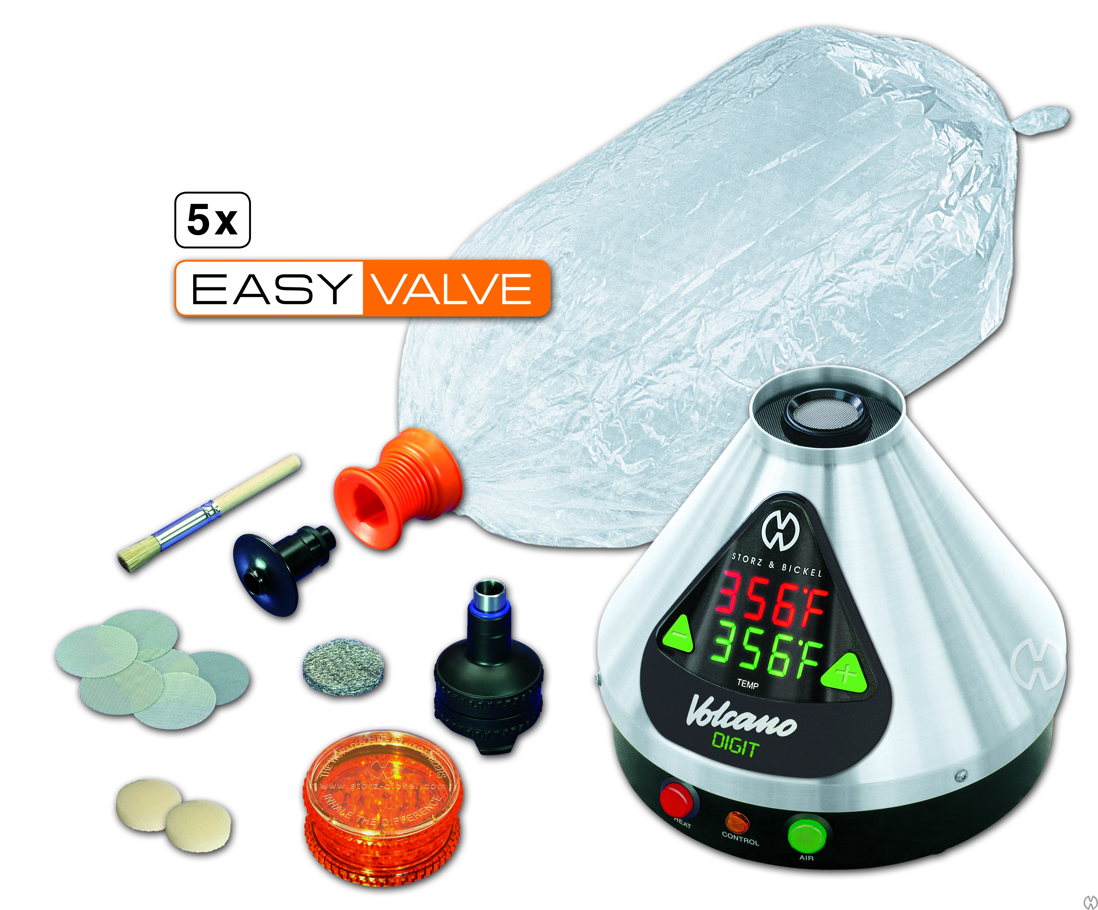 Vaporizer Volcano Digit Easy Valve set (vaporizer,inhalátor,odpařovač)