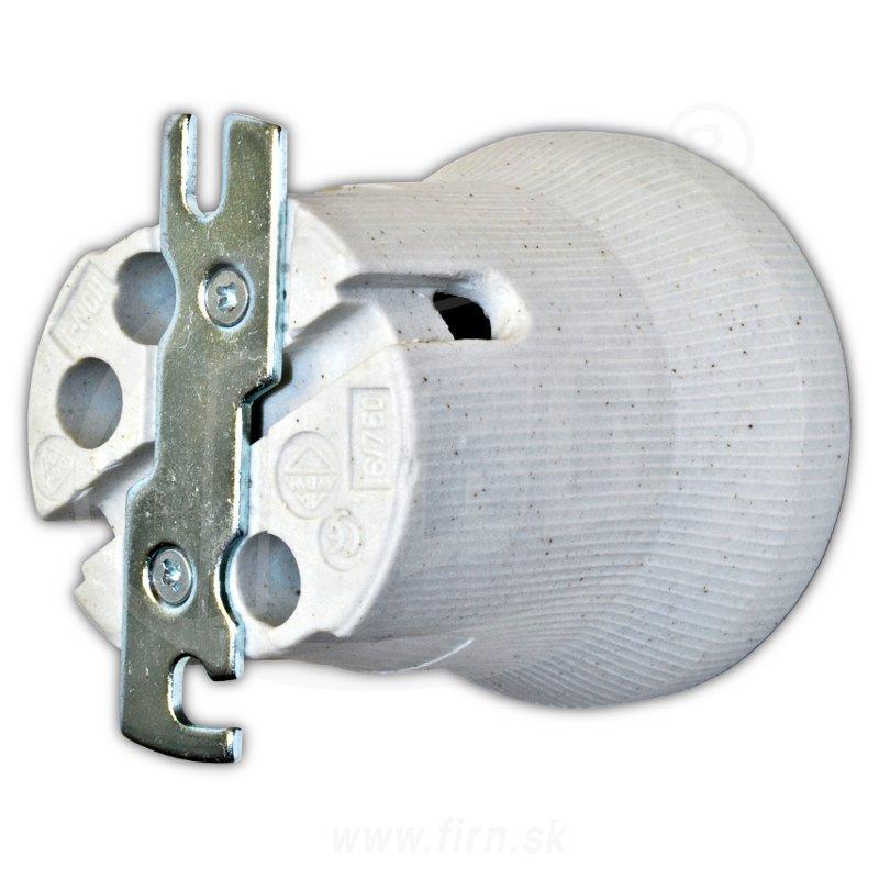 Objímka keramická E27