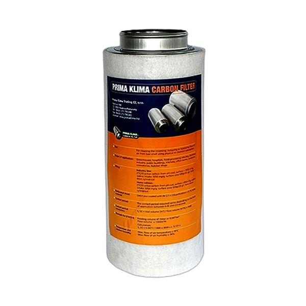 Prima Klima Koncový filtr 160mm 480m3/hod Home (pachový filtr včetně příruby 160mm)