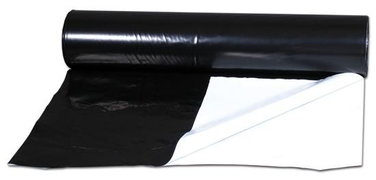 Černobíla folie 10m (20m2) pevnější (odrazná fólie)