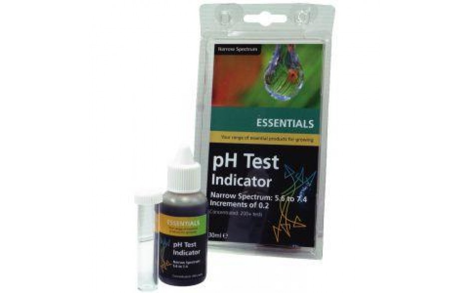 Essentials pH Test Kit Wide spectrum