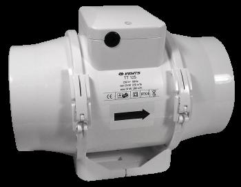 TT 125s 240/320m3/h 125mm silnější motor (ventilátor Vents tt )