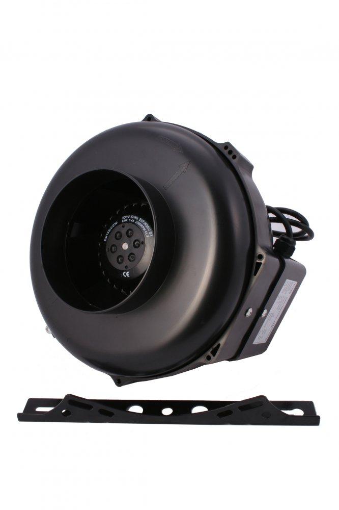 NTS UFO Fan 125RT 0-430m3/hod 82W regulace otáček termostat (regulátor otáček a termostat)