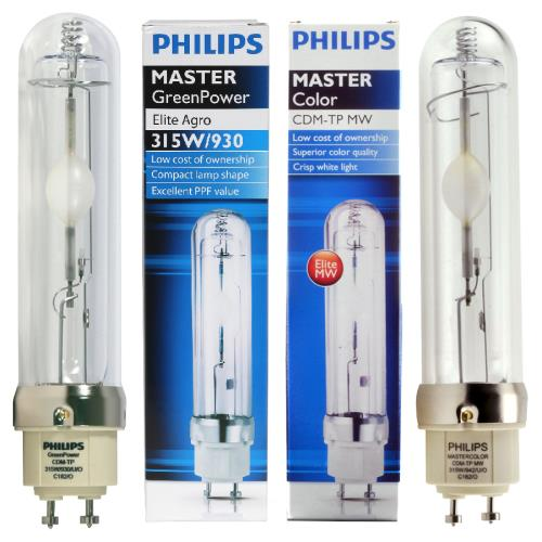 Philips Master Green Power 315W, 3100K Full spectrum LEC růst