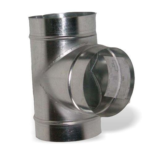 T spoj odbočka 160x160x160mm (spojovací materiál)