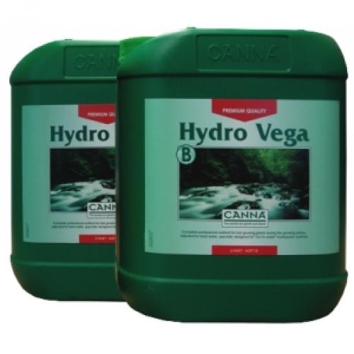 Canna Hydro Vega A+B (HW) 10L (pro rostliny zejména v hydroponii a tvrdou vodu)