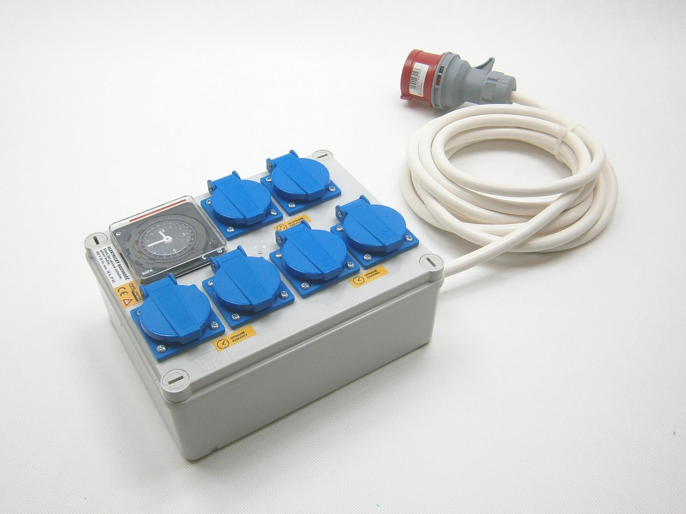 Malapa 400V rozvaděč 4+2 KL02 (elektronický rozvaděč)