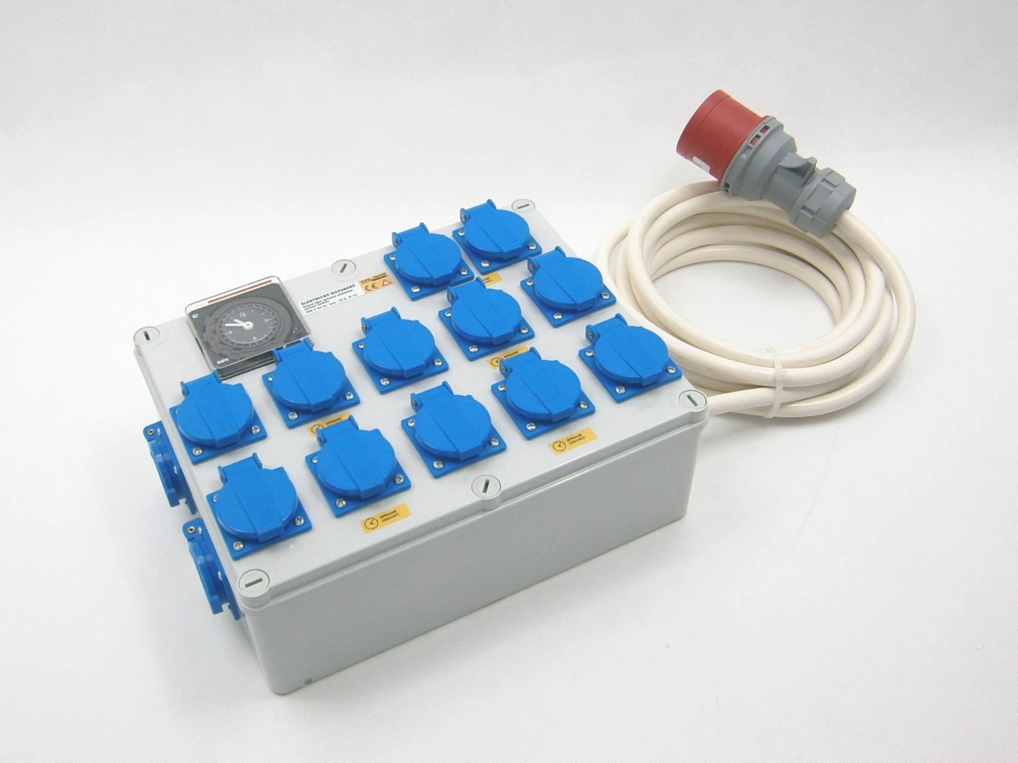 Malapa 400V rozvaděč 12+2 KL05 (elektronický rozvaděč)