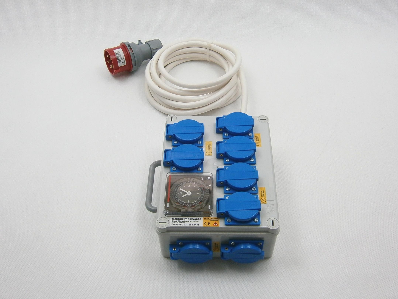 Malapa 400V rozvaděč 6+2 KL03 (elektronický rozvaděč)