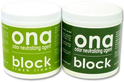 ONA BLOCK pohlcovač zápachu 170g Fresh Linen (osvěžovač vzduchu)
