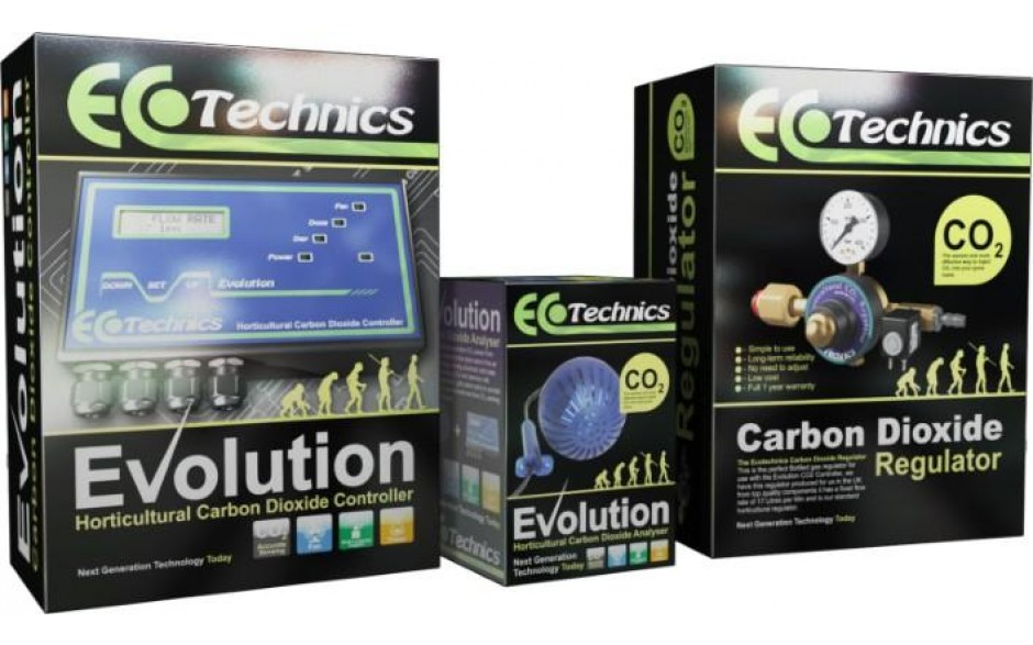 Evolution Co2 complet 3 ks Ecotechnics (kontroler a dávkovač Co2)
