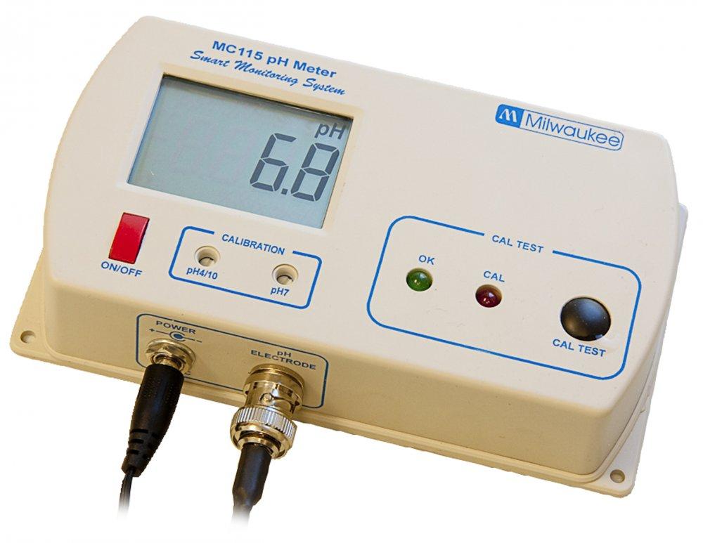 Milwaukee MC 115 pH monitor (ph metr s externí sondou)