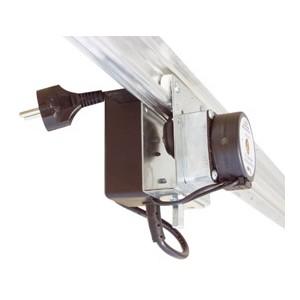 Rail Light Mover pojezd s elektromotorem 220cm (kolejnice pro lampy nnosnost 15kg)