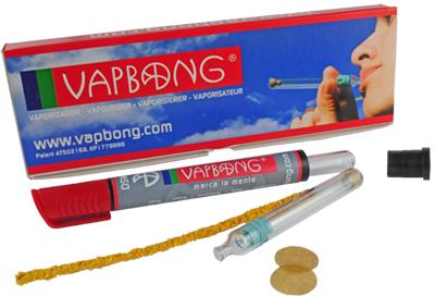 VAPBONG kapesní vaporizér ve tvaru fixu (inhalátor bylinek)
