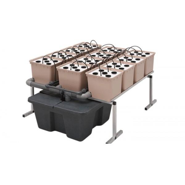 GHE DutchPot System Aero 1m² (hydroponický systém)