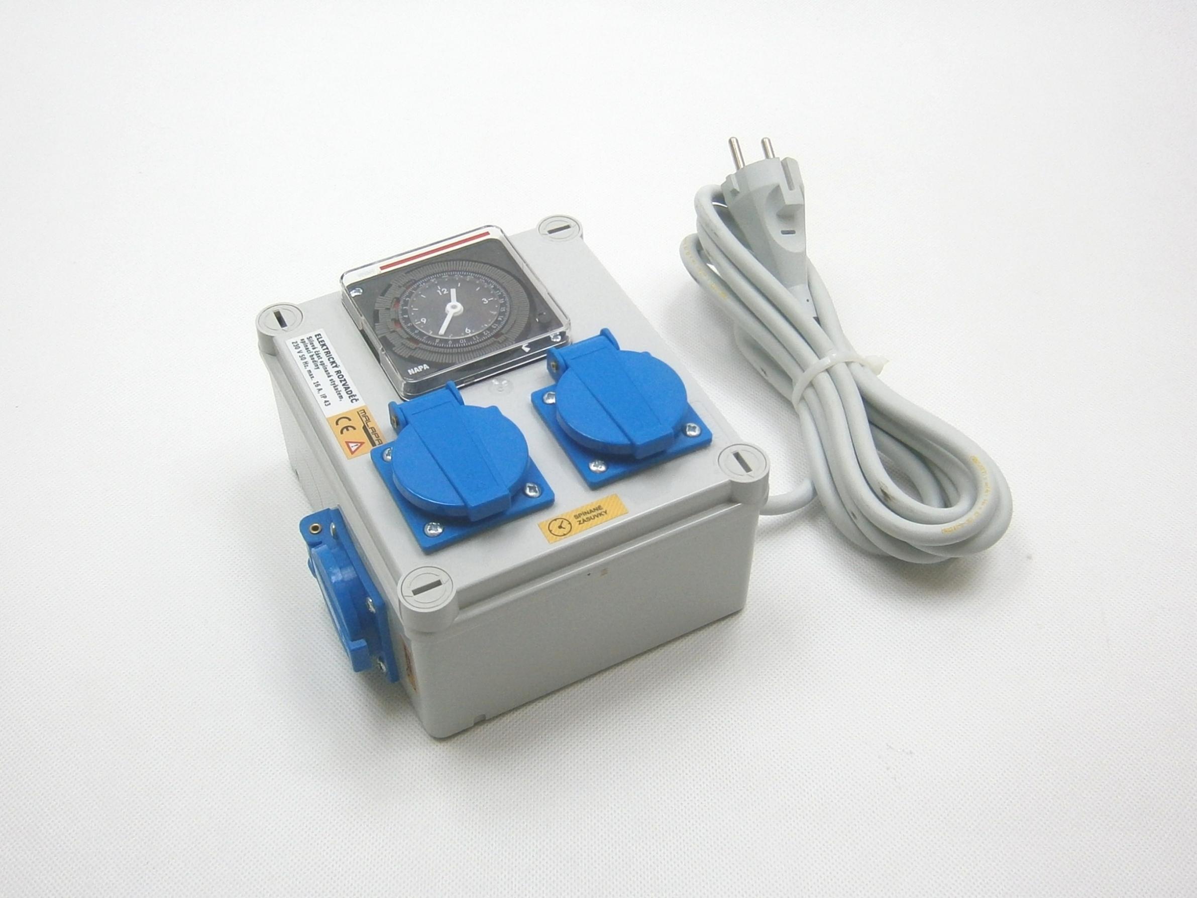 Malapa 230V rozvaděč 2+1 KL00 (elektronický rozvaděč)
