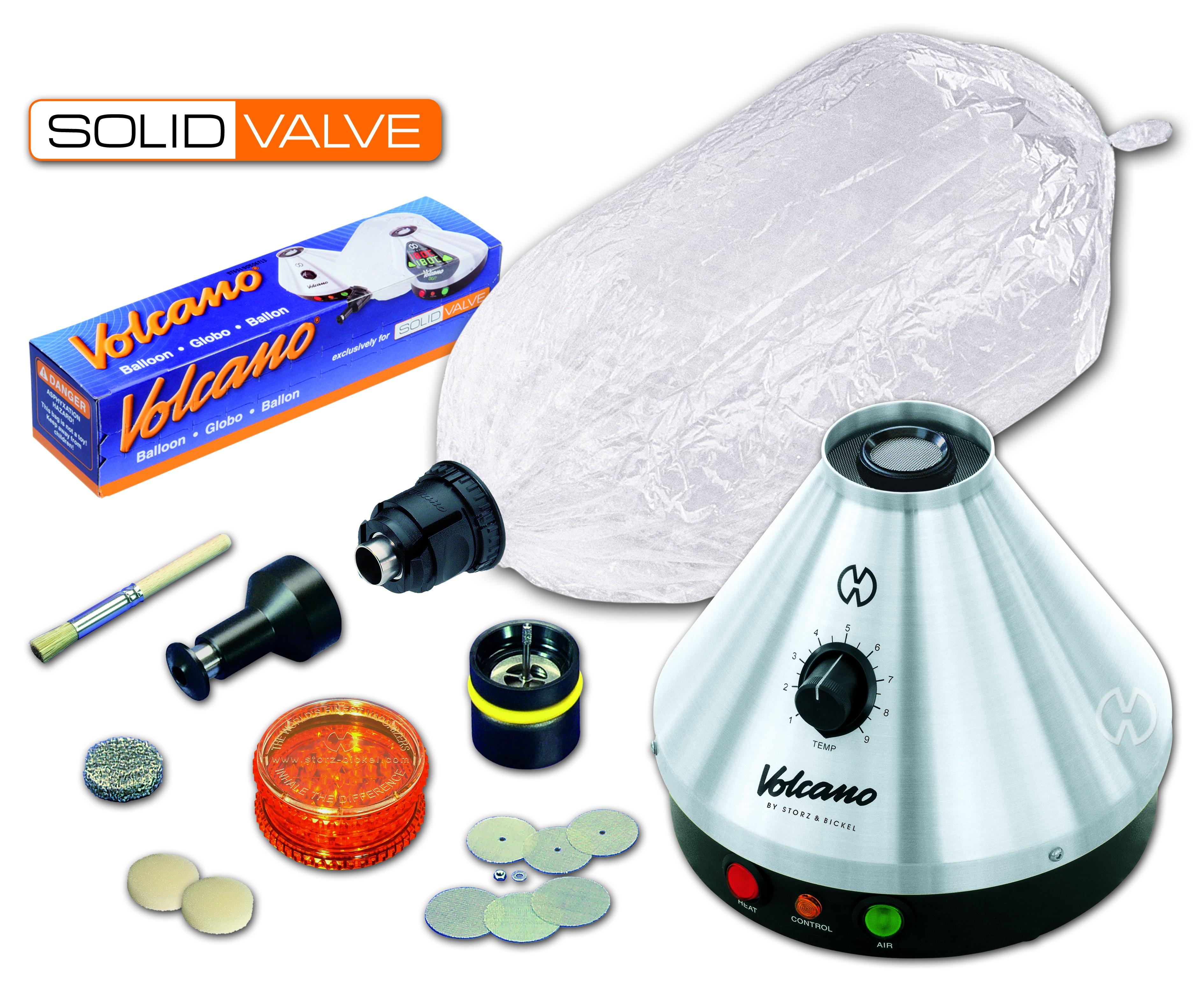 Vaporizer Volcano Classic Solid Valve set (vaporizer,inhalátor,odpařovač)