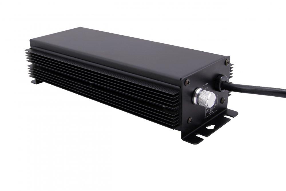NTS BLACK digi předřadník 600W,vč.kabelů, s regulací (250-660W) (Předřaník pro MH i HPS přepínatelný)