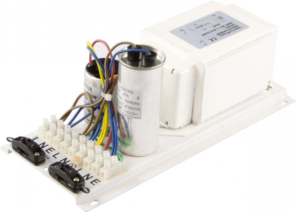 Elektromagnetický předřadník PRO GEAR 600W (Předřaník pro MH i HPS )