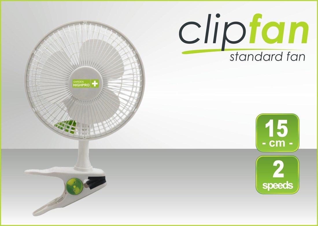 Clip Fan průměr 15cm 15W 200m3/h (klipsnový ventilátor)