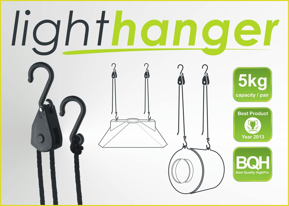 GHP LIGHThanger, závěsný systém, nosnost 5kg/pár (závěsný systém)
