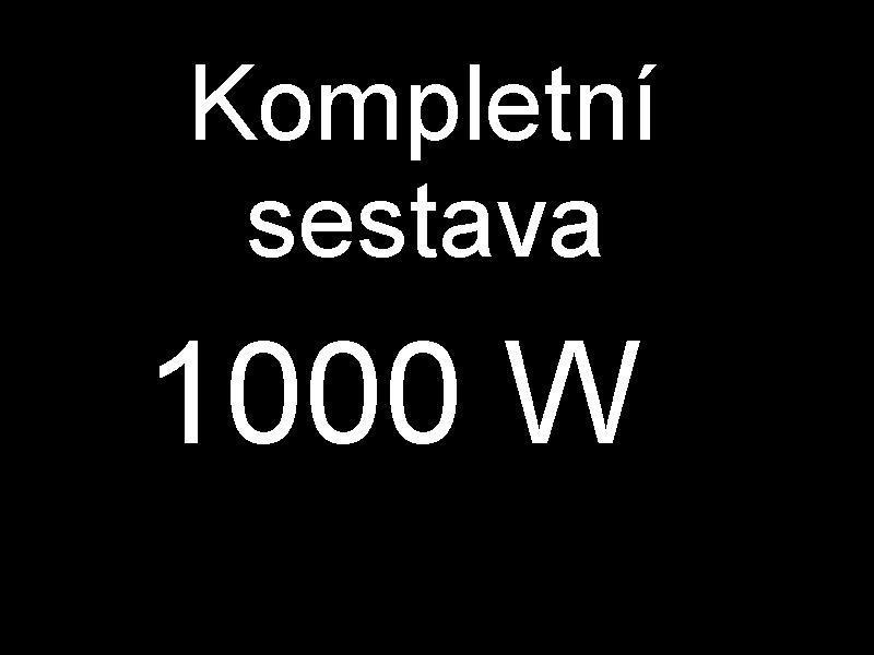 Sestava 1000W Waveflector XXL růst a květ (kompletní sestav ke spuštění)