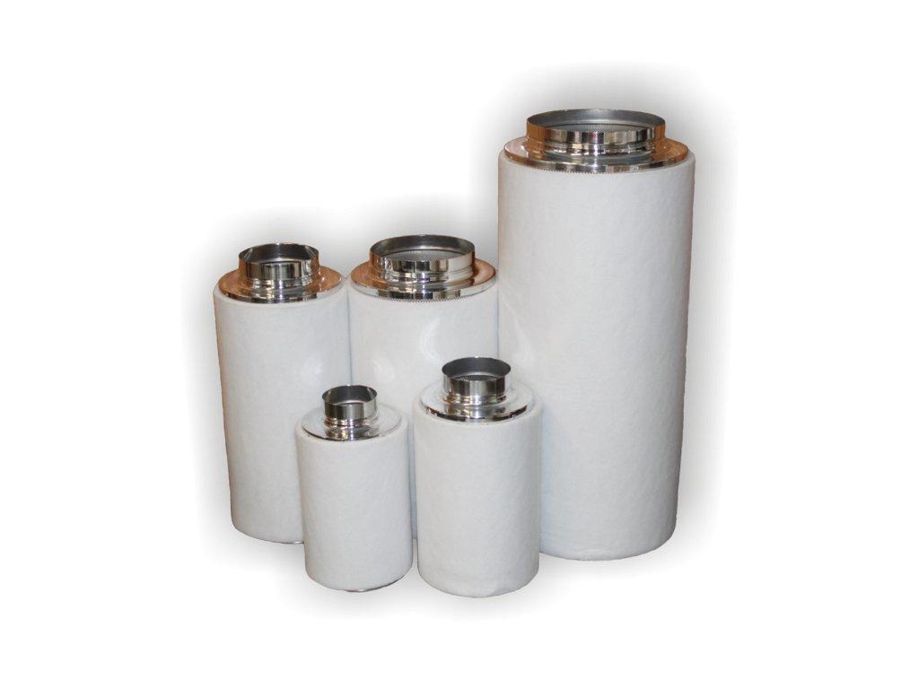 NTS filter PRO 2000 Ø 250mm 60cm 1920m3/hod (uhlíkové)
