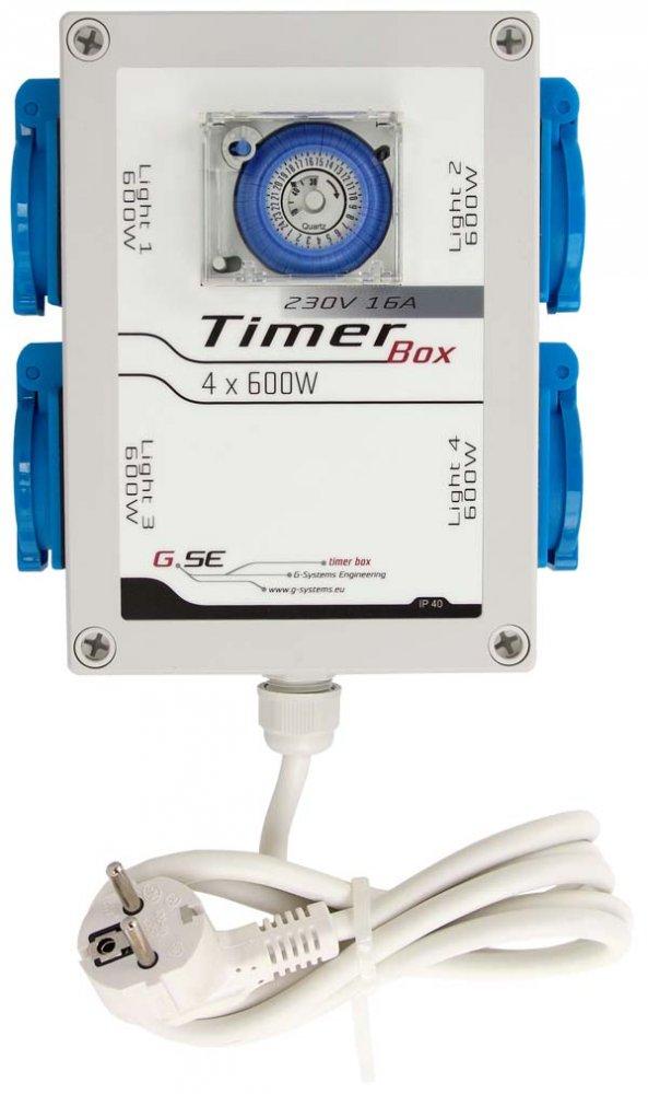TimerBox II 4x600W (spínací hodiny 4x600w)