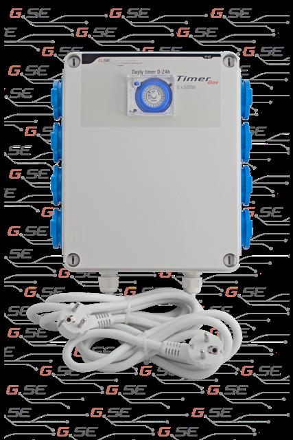 TimerBox II 8x600W (spínací hodiny 8x600w)