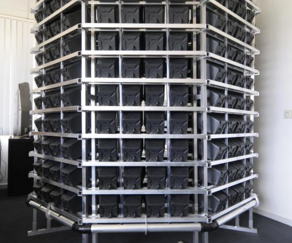 PI Rack vertical grow systém 350 rostlin (vertikální systémy)