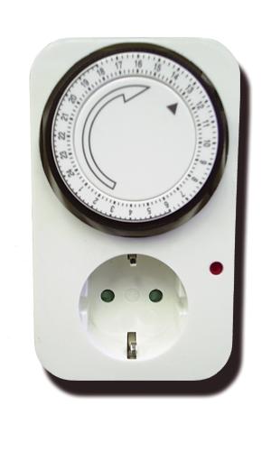 Cornwall mechanické spínací hodiny,16A (spínací hodiny manuální)