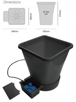 AUTOPOT 1POT XL MODULE EXTENSION KIT (samozavlažovací systém)
