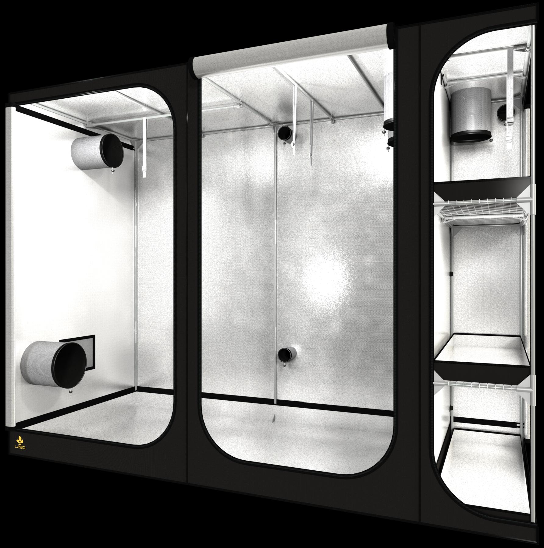Dark room Lodge L280 REV 2,5 280X120X210cm (280X120X210cm)