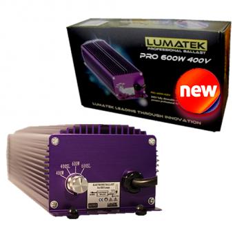 Elektronický předřadník Lumatek Ultimate PRO 600W, 400V (s regulací, včetně výbojky)