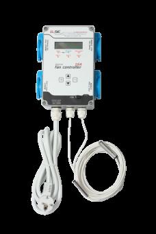 DIGITÁLNÍ FAN CONTROLLER GSE 16V / 4X2200W (regulátor vlhkosti a teploty)