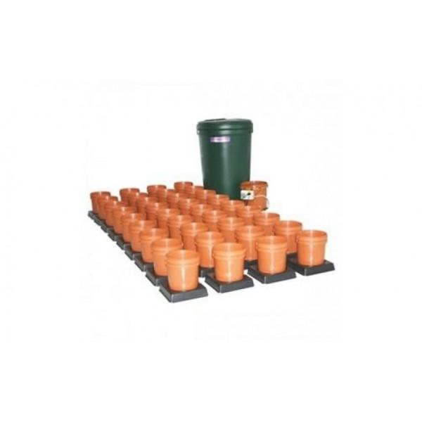 Multiflow V1 - 36 květníků, 350L tank - zavlažovací systém (Automatický hydroponický systém)
