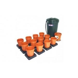 Multiflow V1 -12 květníků, 250L tank - závlahový systém (Automatický hydroponický systém)