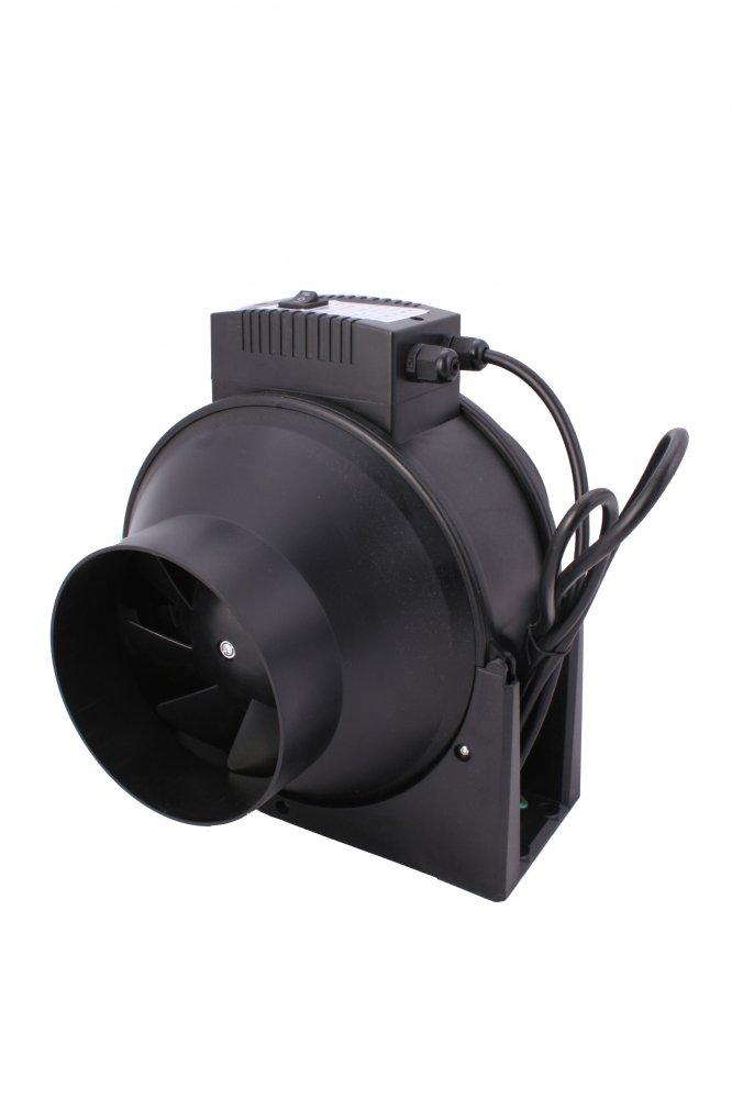 NTS TT 100mm 160/220m3/h 28w 2 rychlosti (dvourychlostní ventilátor)