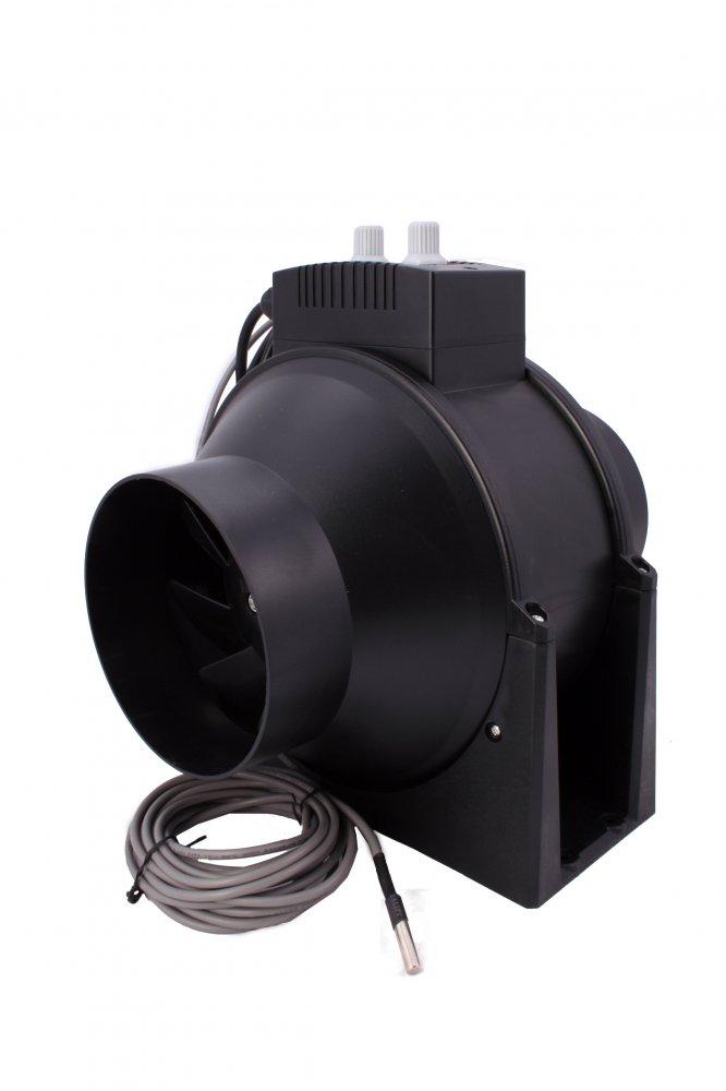 NTS TT 100mmRT 0/220m3/h 28w regulace otáček, termostat (regulace otáček)