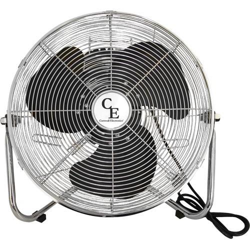 Ventilátor podlahový Cornwall kovový Ø 40cm 3 rychlosti (podlahový ventilátor)