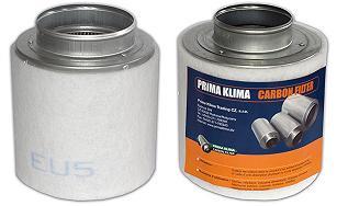 Prima Klima Koncový filtr 125mm 160m3/hod Home (pachový filtr včetně příruby 125mm)