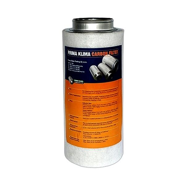 Prima Klima Koncový filtr 125mm 360m3/hod Home (pachový filtr včetně příruby 125mm)