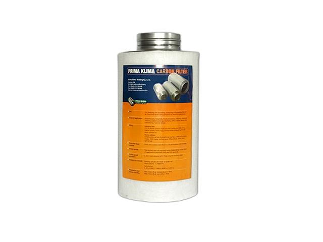 Prima Klima Koncový filtr 125mm 360m3/hod Industry (pachový filtr včetně příruby 125mm)