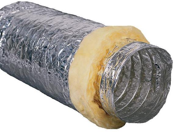 Sonoflex ventilační potrubí 102mm x 1m (odhlučněné ventiláční potrubí)