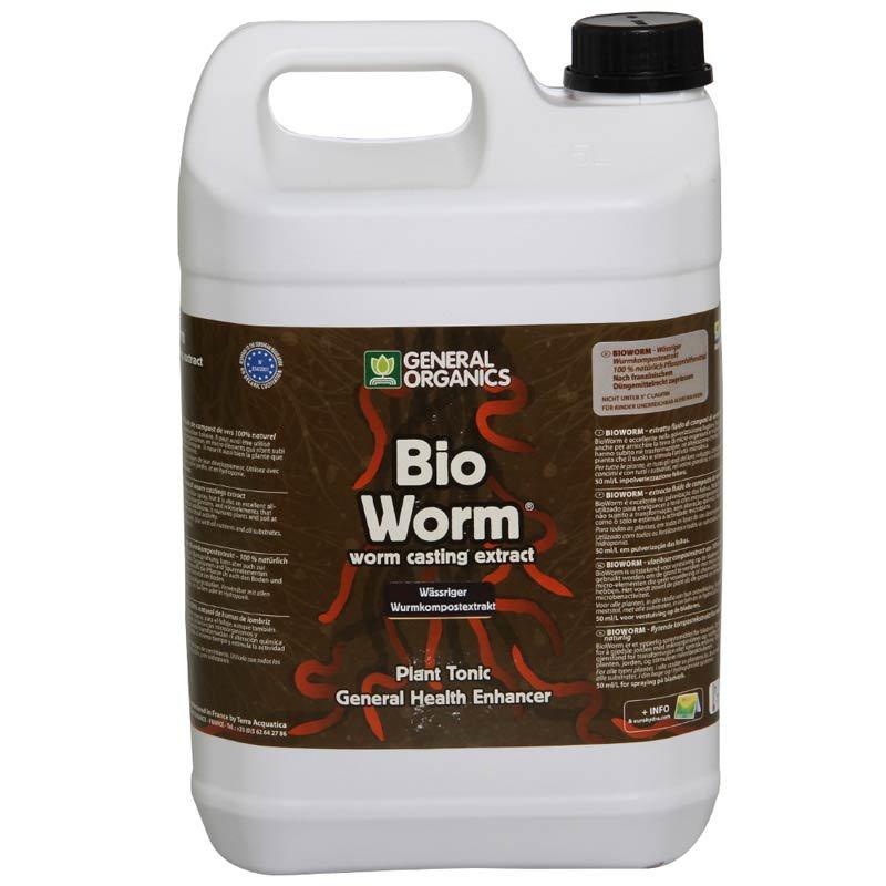 General Hydroponics Bio Worm 5L (postřik na listy)