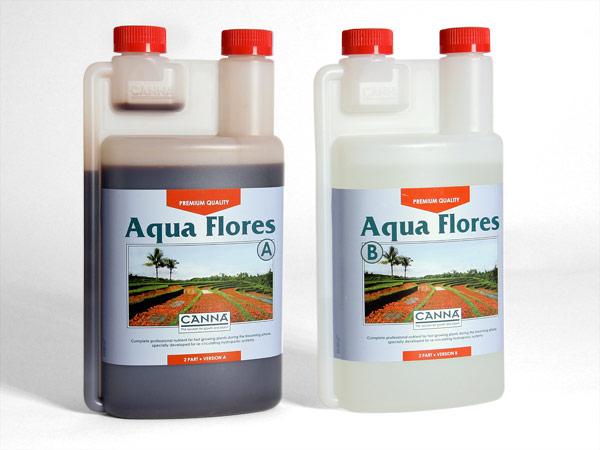 Canna Aqua Flores A+B 1L (pro rychlerostoucí rostliny zejména v hydroponii)