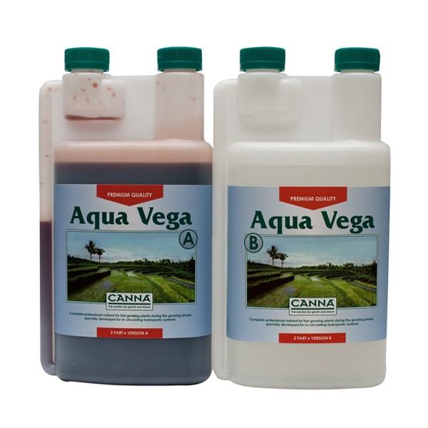 Canna Aqua Vega A+B 1L (pro rostliny zejména v NFT a EBB Flow systémech)