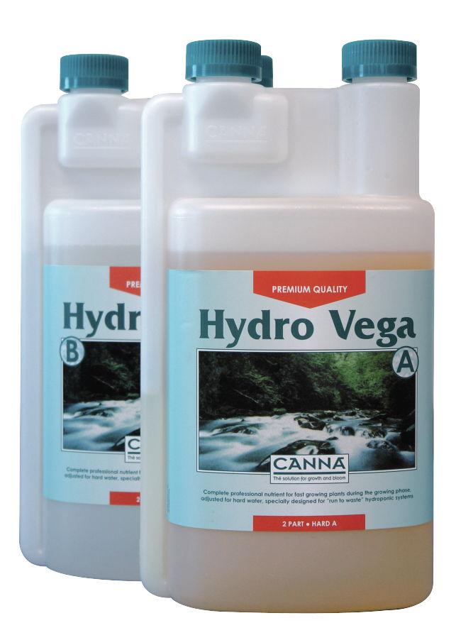 Canna Hydro Vega A+B (HW) 1L (pro rostliny zejména v hydroponii a tvrdou vodu)