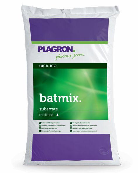 Plagron Batmix 25L (předhnojený substrát s netopýřím guanem)
