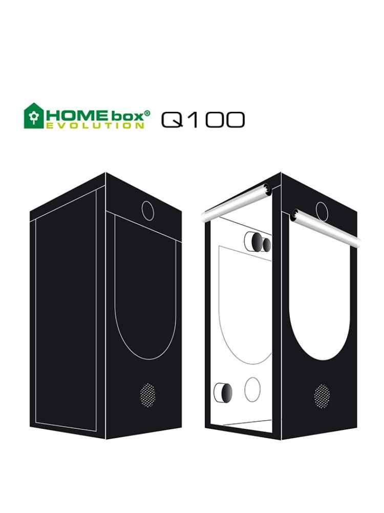 Homebox Evoluion Q100 100x100x200cm